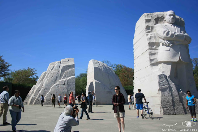 My Travel Background : 12 lieux à visiter à Washington D.C. - Mémorial de Martin Luther King JR