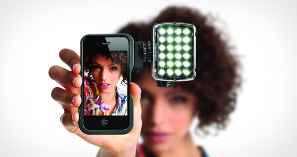 Manfrotto KLYP ML240 LED light and case for iPhone 4/4S