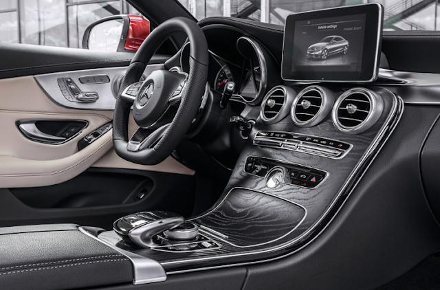 2017 Mercedes C-Class Coupe Interior