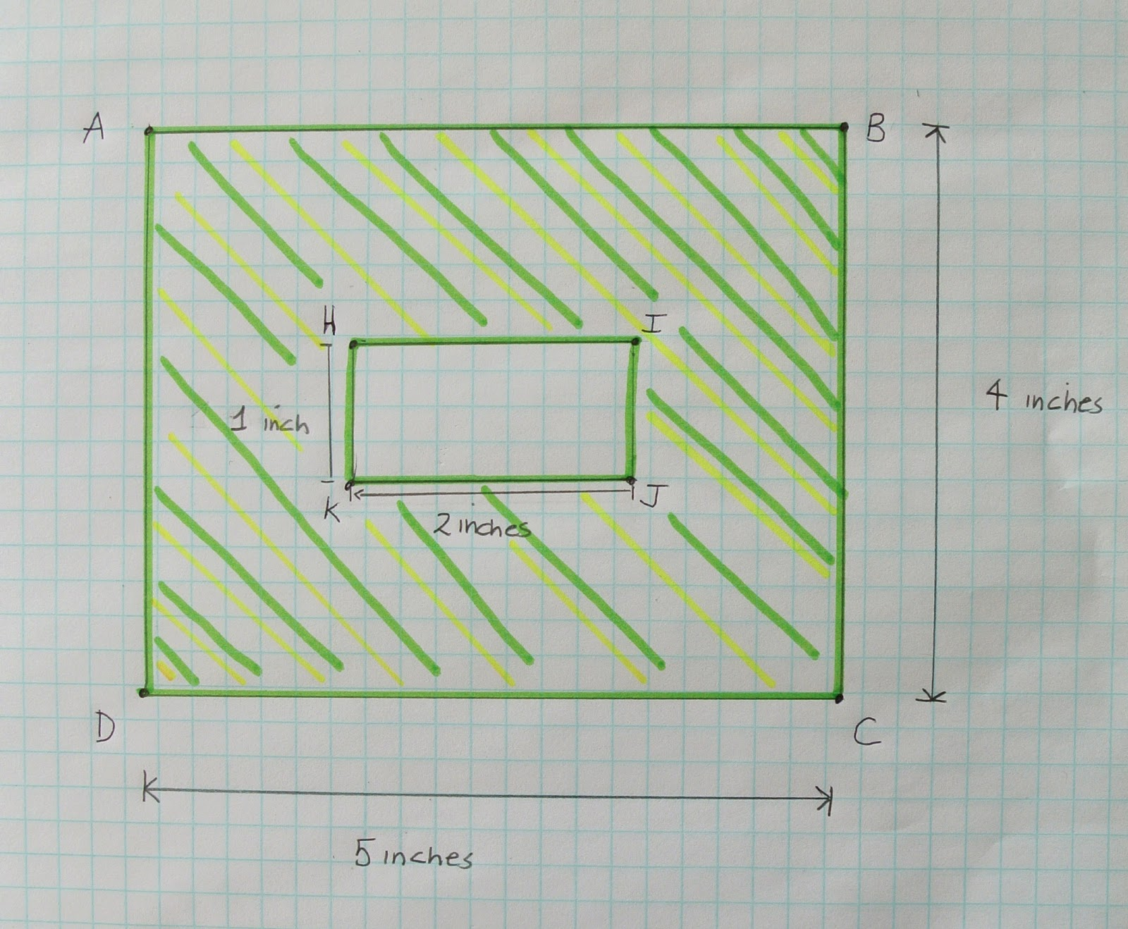 Area Of A Shaded Region Worksheet