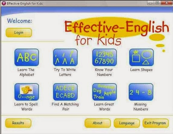 Free english lessons software download.
