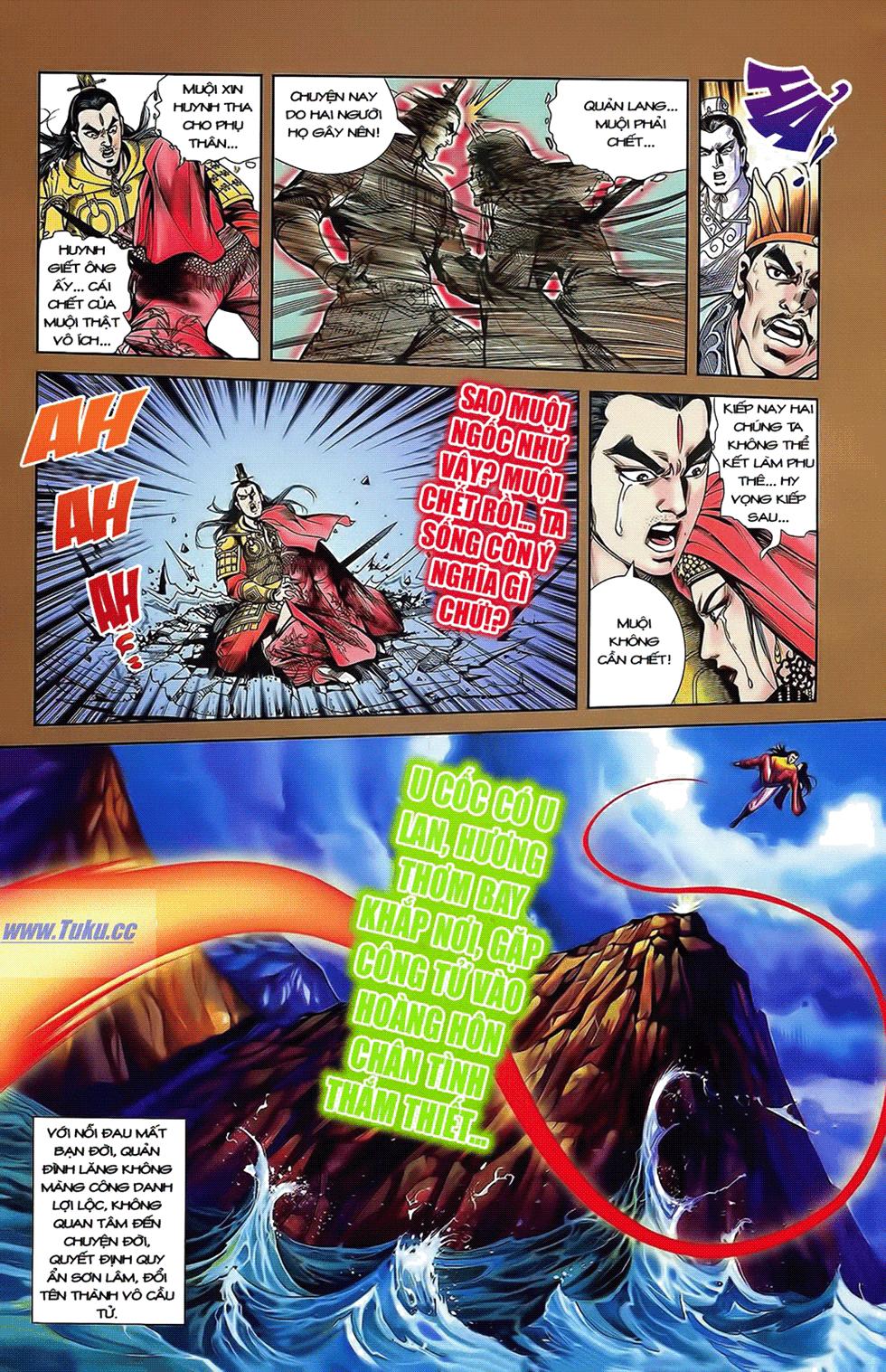 Tần Vương Doanh Chính chapter 14 trang 9