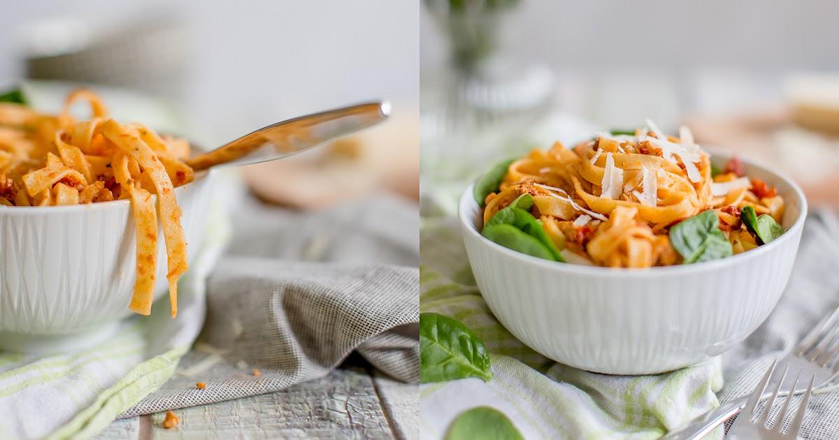 alles und anderes mitgebracht aus neuseeland pasta mit lachs getrockneten tomaten und. Black Bedroom Furniture Sets. Home Design Ideas