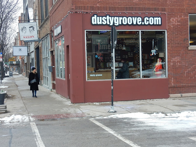 Dusty Groove Wicker Park Chicago Illinois - Store Front