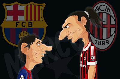 Mañana Messi vs Ibrahimovic