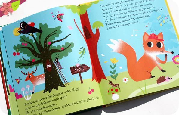 Le corbeau et le renard racontée aux enfants d'Aurélie Desfour et Sarah Andreacchio - un petit livre d'or