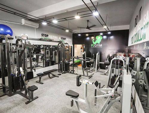 phòng gym tại khu Biệt thự Dương Nội