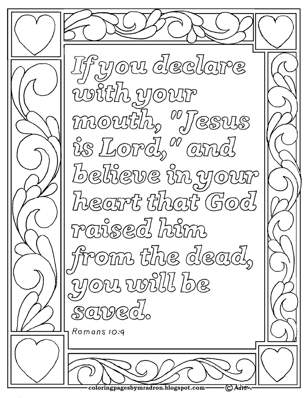 Romans 3 23 Coloring Page Coloring Pages