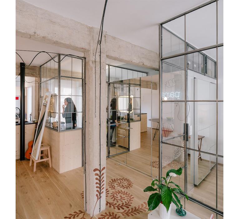 Pareti divisorie in vetro arredamento facile - Pareti a specchio ...