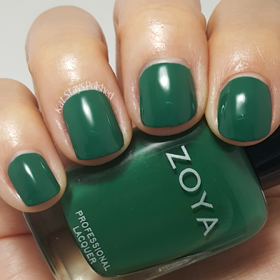 Zoya Urban Grunge Once Coat Creams - Wyatt | Kat Stays Polished