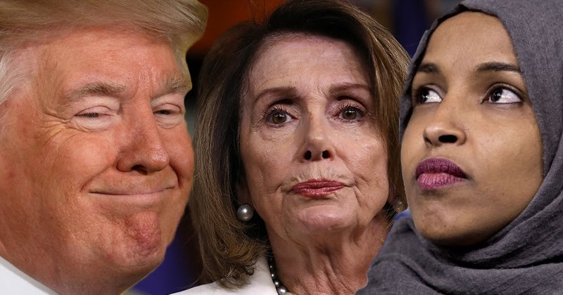 Nancy Pelosi Demands Trump Bow To Her & Ilhan Omar, Insists President Trump Removes Viral Twitter Video