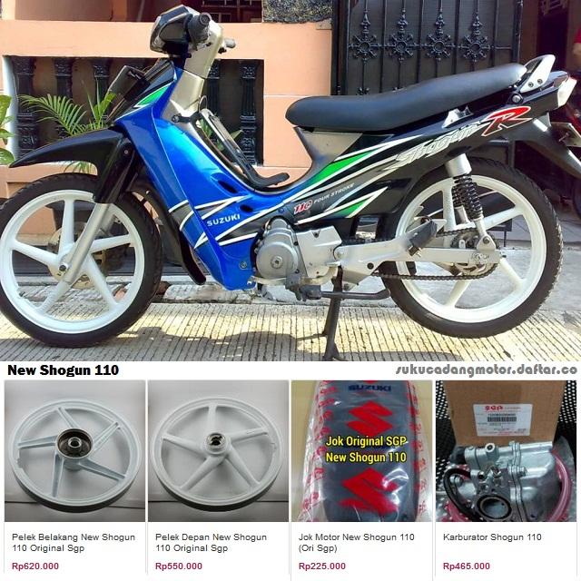 Suzuki Shogun 110 R