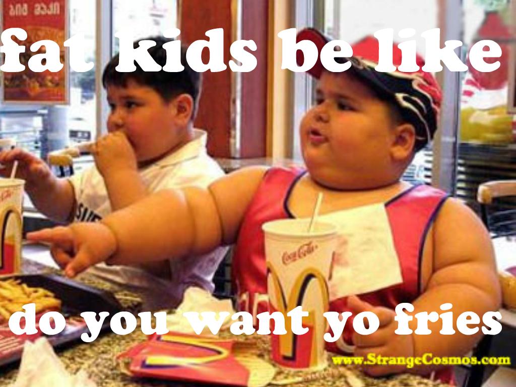 Fat Guy At Mcdonalds 28