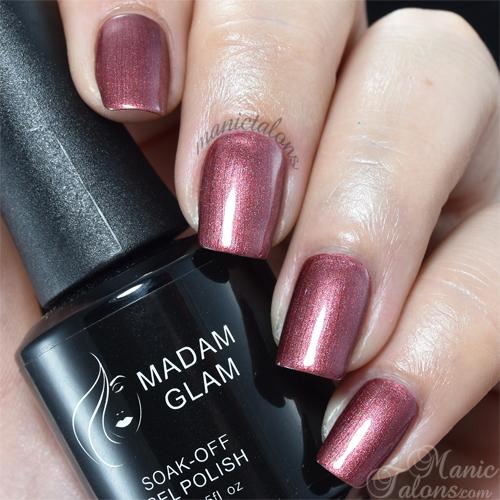 Madam Glam Gel Polish Sparkly Topaz