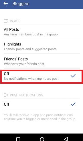 Beginilah Cara Menghentkani Notifikasi dari Grup Facebook Khusus 6