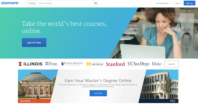 Take the world's best courses, ONLINE!