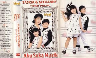 saskia geofanny album aku suka musik www.sampulkasetanak.blogspot.co.id