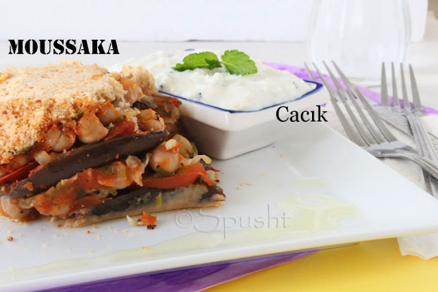 Spusht | Moussaka and Cacik from Mediterranean Cuisine