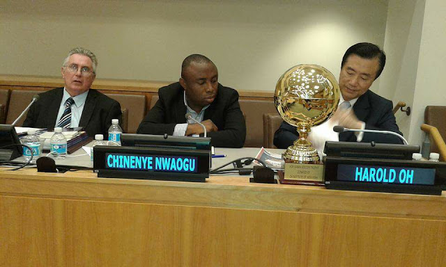 Abia Man to speak on UN 'Youth Empowerment & Political Participation' holds in USA