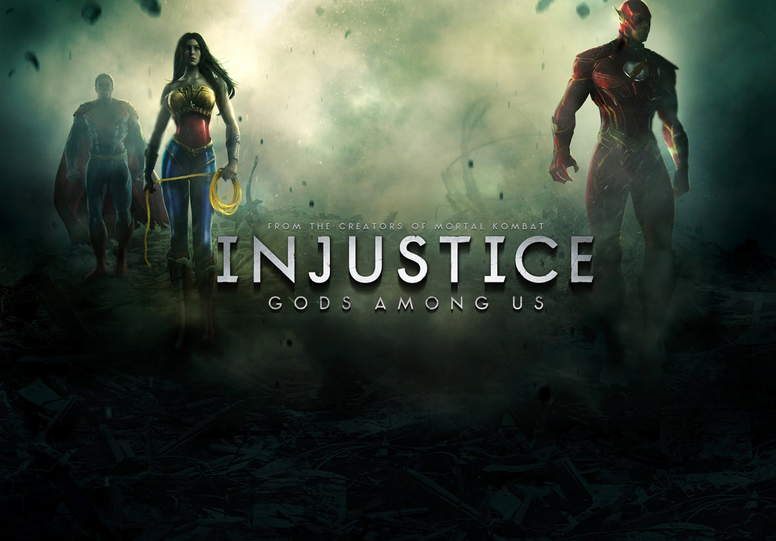 s Ed Boon Shows Off Injustice: Gods Among Us to the EVO Championship Series Crowd