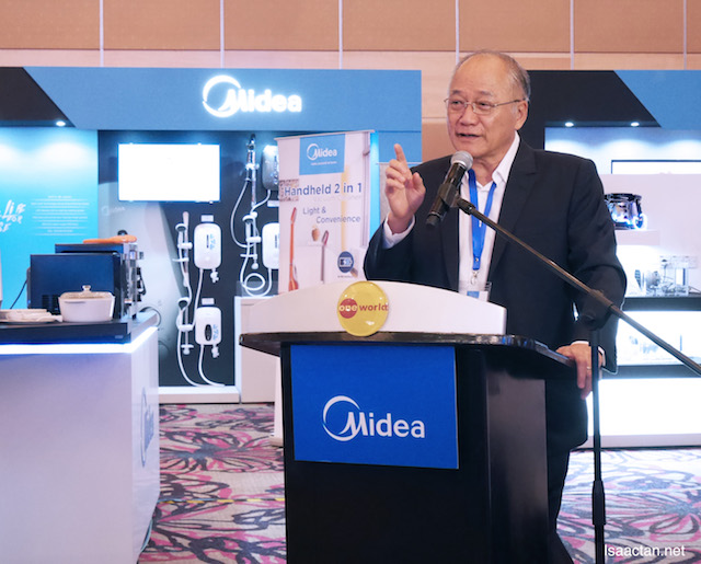 Midea Top Guns were at the events to share with the media on what's to come