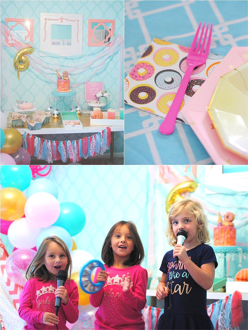 An Amelia Bedelia Inspired Sleep Over Birthday Party - lots of creative decorations, DIY desserts table ideas, fun and favors fora  girls' slumber party! via BirdsParty.com @birdsparty #sleepoverbirthday #slumberparty #ameliabedeliaparty #girlbirthday