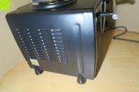 Seite: Andrew James – 23 Liter Mini Ofen und Grill mit 2 Kochplatten in Schwarz – 2900 Watt – 2 Jahre Garantie