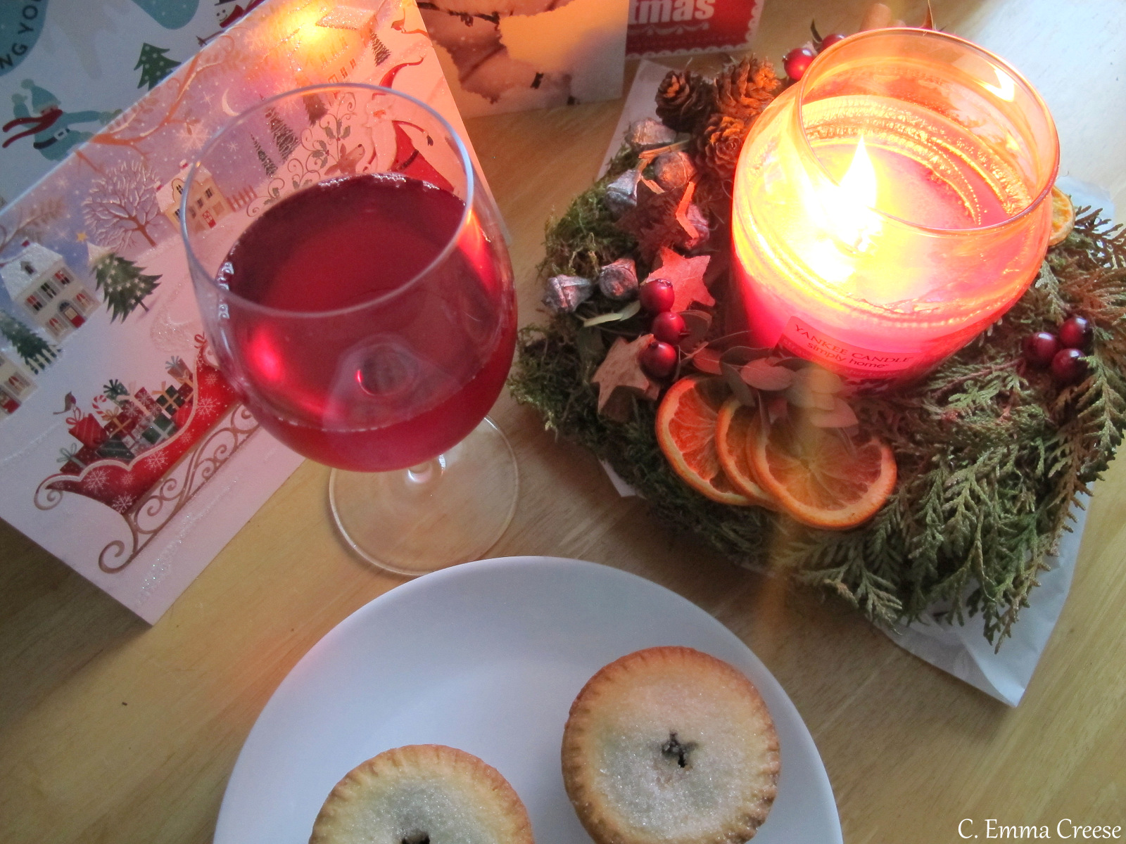 Wait, it's Christmas already somehow? It's ok, I have a playlist and mince pies at the ready... Adventures of a London Kiwi