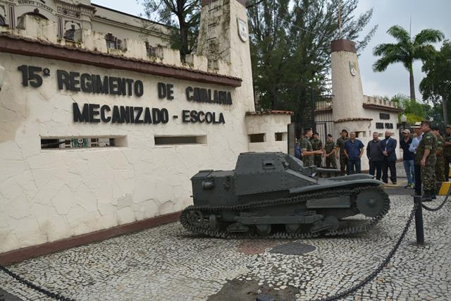 Espaço Cultural Alameda dos Blindados é inaugurado na Vila Militar