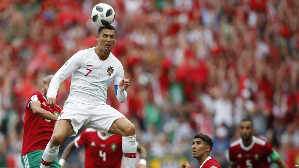 Cristiano Ronaldo es el goleador de la copa / AP