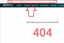 Cara hapus URL artikel Blog di Webmaster Tools