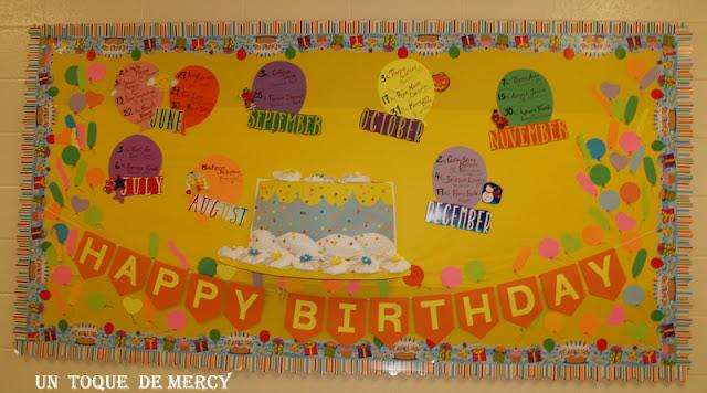 Un Toque De Mercy Feliz Cumpleanos Happy Birthday Mural Para