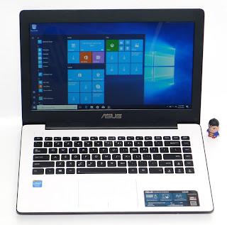 Laptop ASUS X453MA Seken di Malang