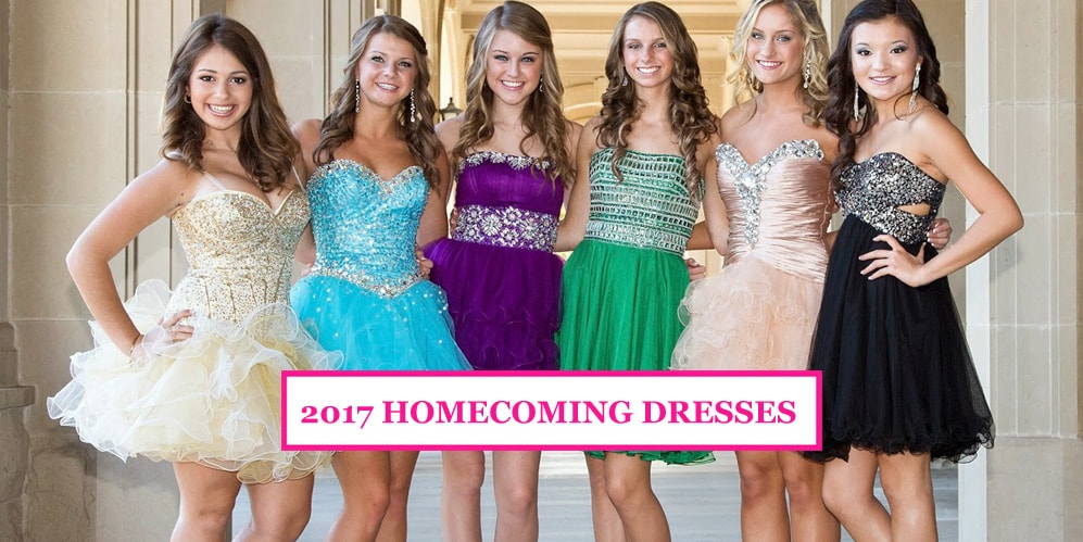 Latest Homecoming Dresses 2017