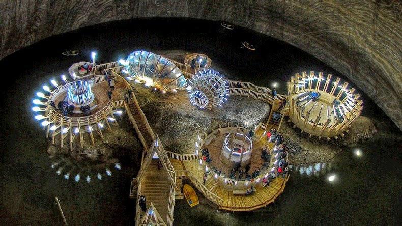 Salina Turda, el lugar subterráneo más bello del mundo | Rumania