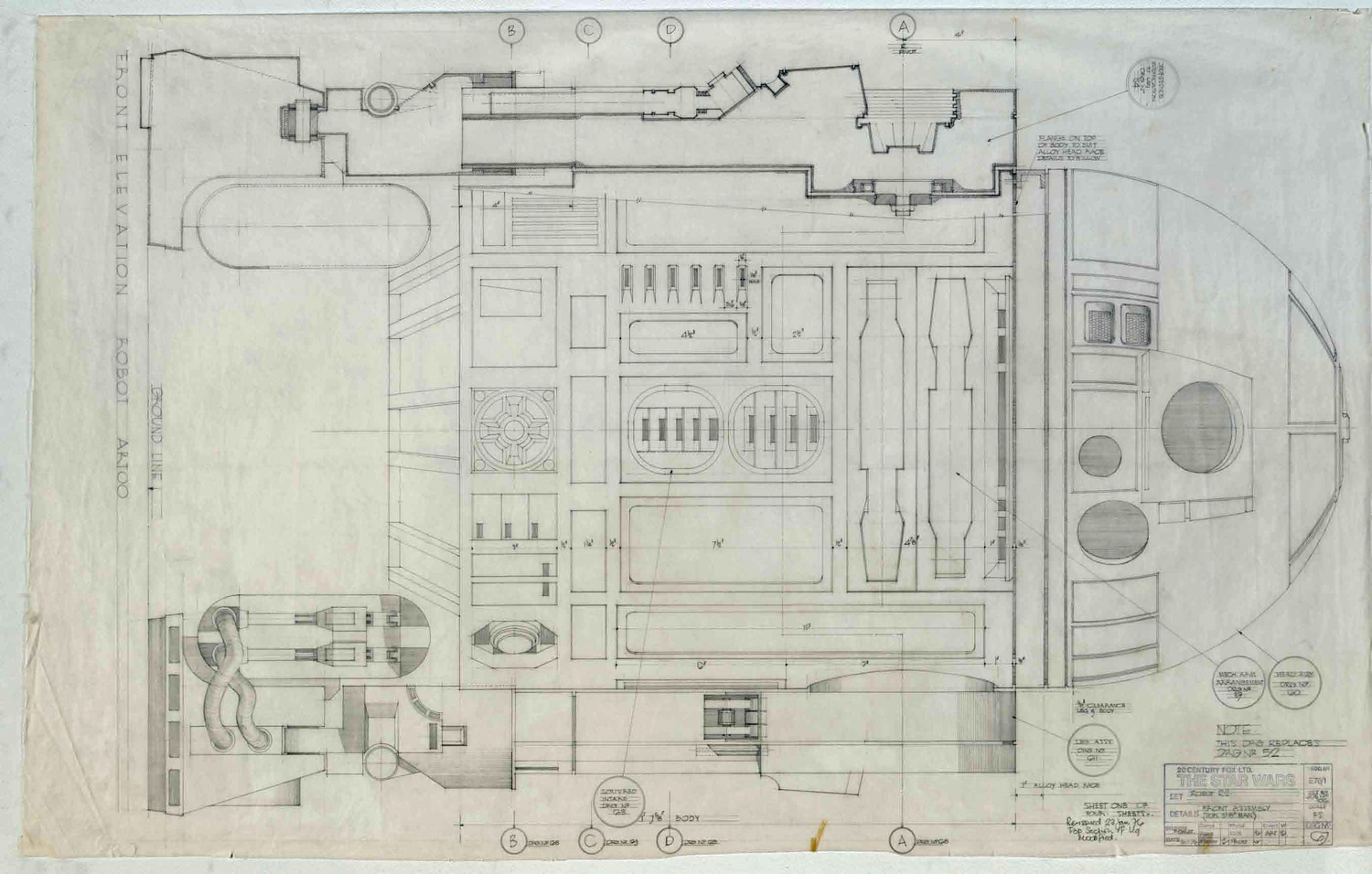 If its hip its here archives a sneak peek at the collectors if its hip its here archives a sneak peek at the collectors edition of never before seen star wars blueprints malvernweather Choice Image