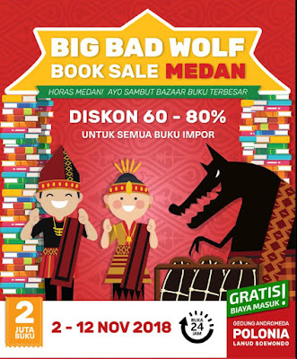 Kalap di Big Bad Wolf 2018