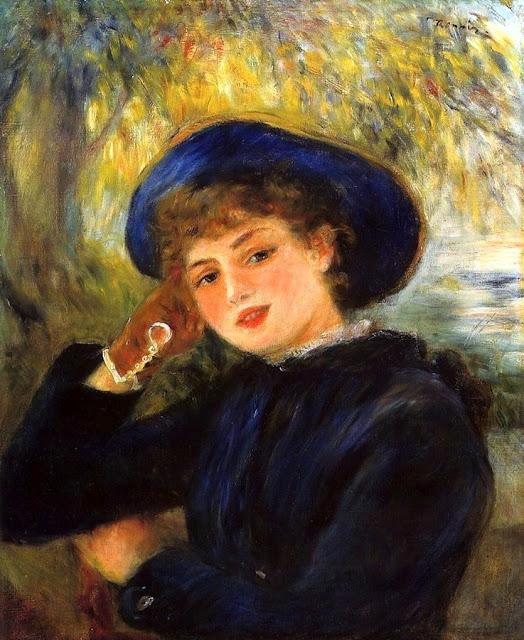 Self-Portrait - Pierre-Auguste Renoir - WikiArt.org ... |Renoir Portraits