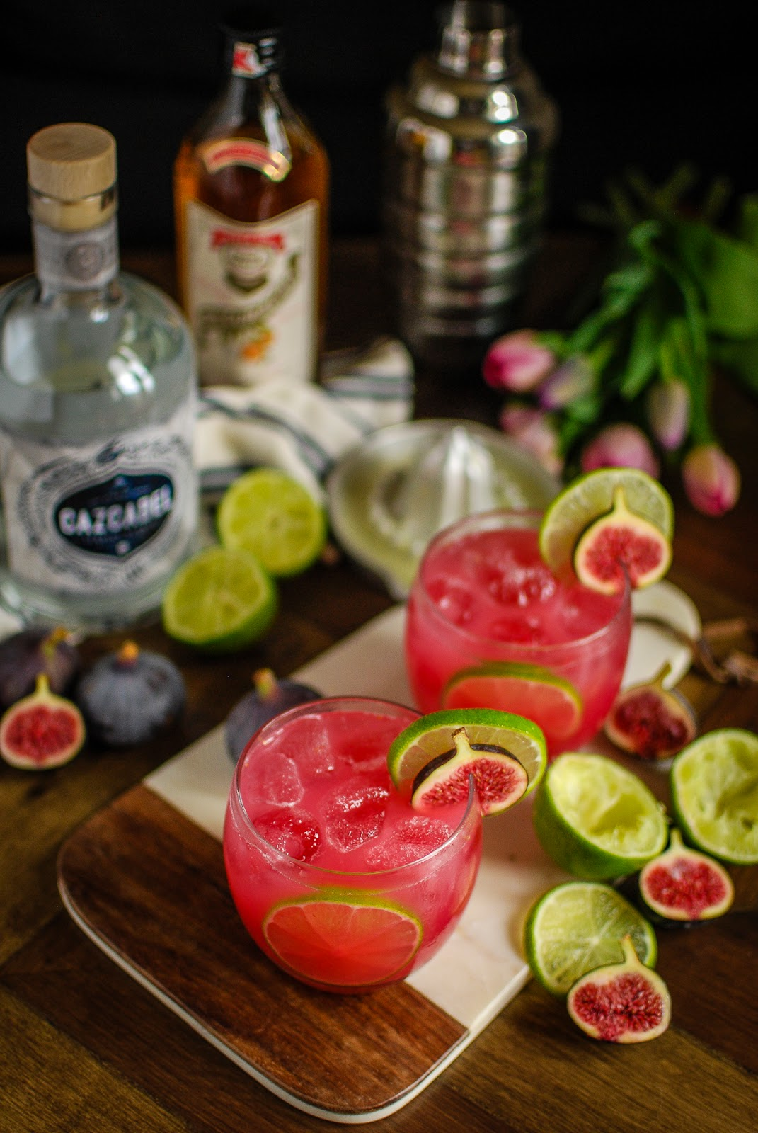 Fig margarita recipe, the perfect cocktail for your summer barbeques
