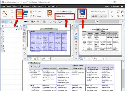 Cara konversi file PDF menjadi file Microsoft Word menggunakan ABBYY FineReader