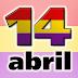 Listado de Convocatorias con motivo del 14 de Abril 'Día de la República'