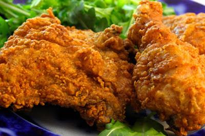 Resep dan Cara Membuat Spicy Fried Chicken Seperti KFC atau MCD