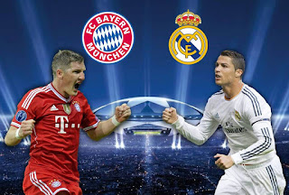 Champions League Draw !! Real Madrid To Face Bayern Munich [See Full Features]