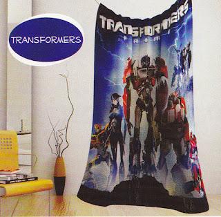 Selimut Kintakun Transformers