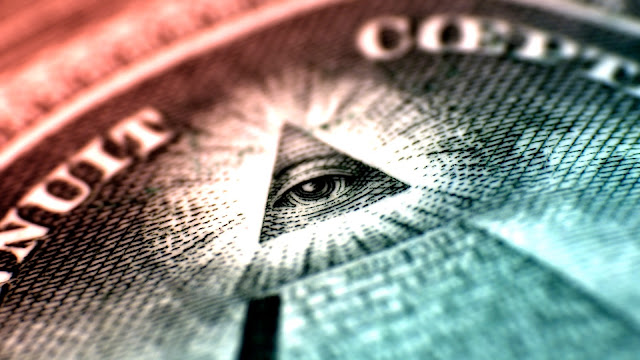 Los símbolos ocultos en el dólar Americano