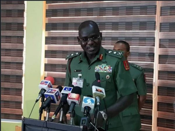 Lt. General Buratai: official car involved in accident, ADC injured