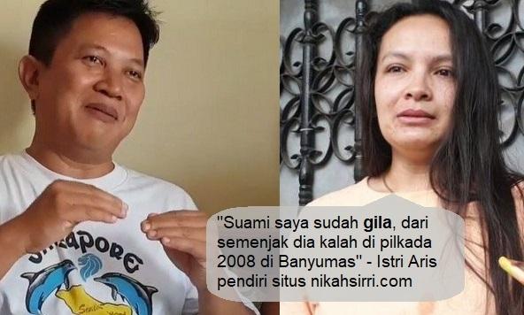 mengalami sedikit gangguan jiwa alasannya ialah kalah dalam Pilkada Banyumas pada  Berita Terhangat Istri pendiri situs nikahsirri.com ( Rani ) meminta maaf atas perbuatan suaminya