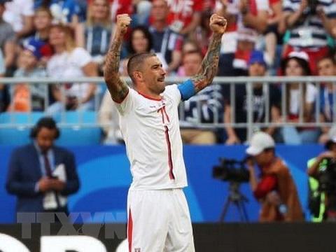 Đội bóng đến từ Trung Mỹ phải khó khan khi đối đầu với đội tuyển Serbia.