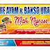 Download Contoh Spanduk Warung Mie Ayam dan Bakso CorelDraw Gratis