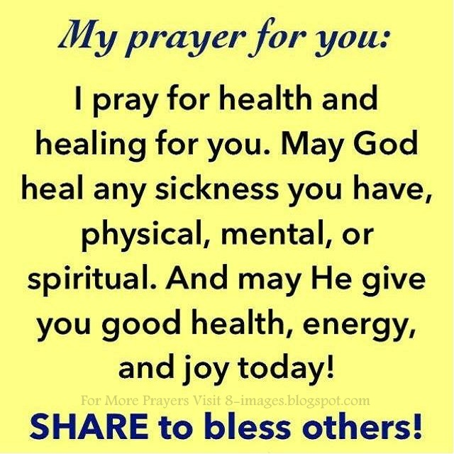 Prayer For Healing Any Sickness Physical Mental Spiritual